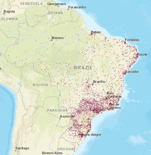 mapa de acidentes