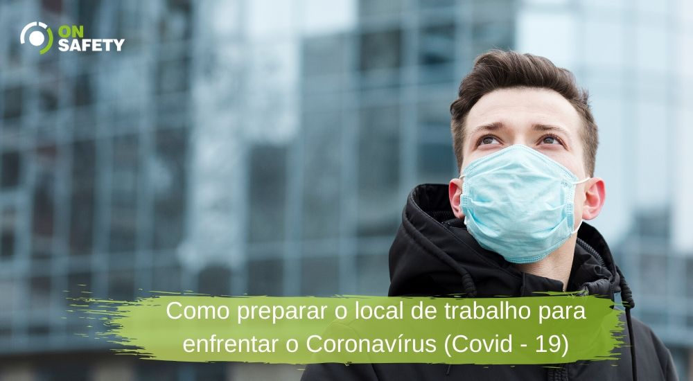 coronavirus no ambiente de trabalho